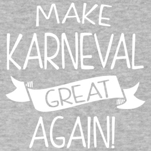 Make Karneval great again! - Men's V-Neck T-Shirt by Canvas