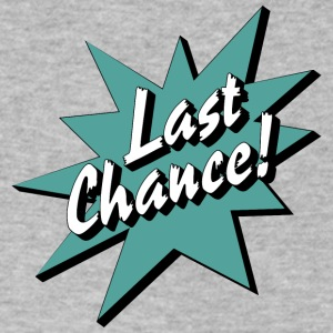 Last Chance / Chance - Men's V-Neck T-Shirt by Canvas