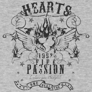 hearts passion - Men's V-Neck T-Shirt by Canvas