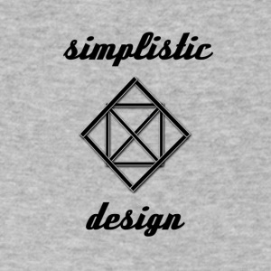 Simplistic Design Logo With Text - Men's V-Neck T-Shirt by Canvas