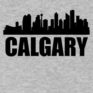 Calgary Skyline - Men's V-Neck T-Shirt by Canvas