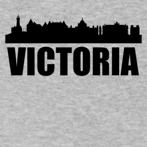 Victoria Skyline - Men's V-Neck T-Shirt by Canvas