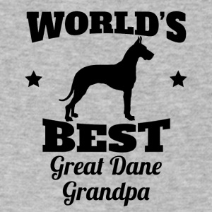 World's Best Great Dane Grandpa - Men's V-Neck T-Shirt by Canvas