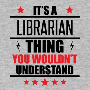 It's A Librarian Thing - Men's V-Neck T-Shirt by Canvas
