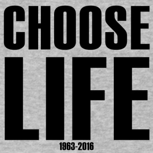 Choose Life 1963-2016 - Men's V-Neck T-Shirt by Canvas