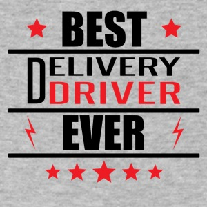 Best Delivery Driver Ever - Men's V-Neck T-Shirt by Canvas