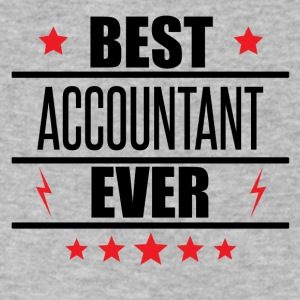 Best Accountant Ever - Men's V-Neck T-Shirt by Canvas