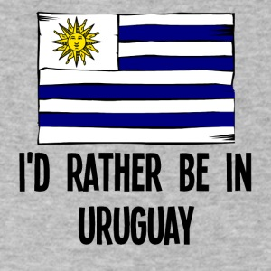 I'd Rather Be In Uruguay - Men's V-Neck T-Shirt by Canvas