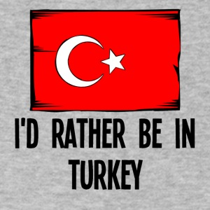 I'd Rather Be In Turkey - Men's V-Neck T-Shirt by Canvas
