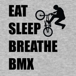 Eat Sleep Breathe BMX - Men's V-Neck T-Shirt by Canvas