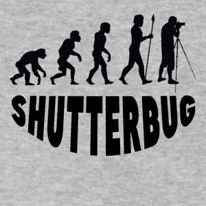 Shutterbug Evolution - Men's V-Neck T-Shirt by Canvas