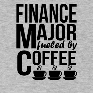 Finance Major Fueled By Coffee - Men's V-Neck T-Shirt by Canvas