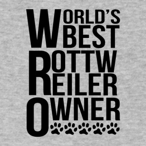 World's Best Rottweiler Owner - Men's V-Neck T-Shirt by Canvas