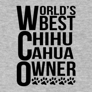 World's Best Chihuahua Owner - Men's V-Neck T-Shirt by Canvas