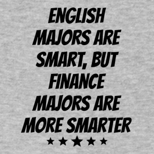 Finance Majors Are More Smarter - Men's V-Neck T-Shirt by Canvas