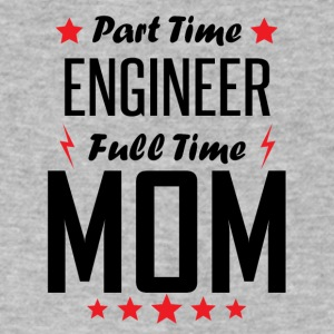 Part Time Engineer Full Time Mom - Men's V-Neck T-Shirt by Canvas