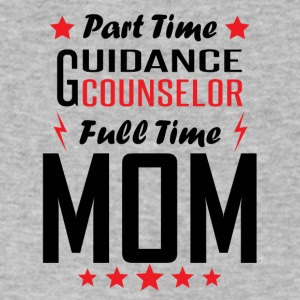Part Time Guidance Counselor Full Time Mom - Men's V-Neck T-Shirt by Canvas