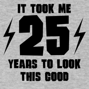 It Took Me 25 Years To Look This Good - Men's V-Neck T-Shirt by Canvas