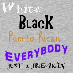Prince - White Black Puerto Rican Lyrics - Men's V-Neck T-Shirt by Canvas