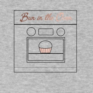 Bun in the Oven - Men's V-Neck T-Shirt by Canvas
