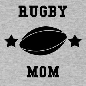 Rugby Mom - Men's V-Neck T-Shirt by Canvas