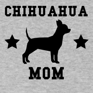 Chihuahua Mom - Men's V-Neck T-Shirt by Canvas