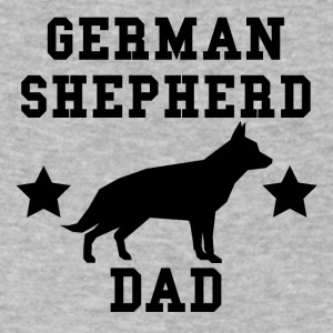 German Shepherd Dad - Men's V-Neck T-Shirt by Canvas