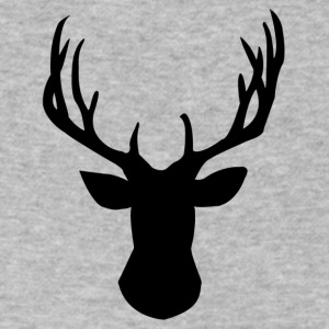 Aesthetic Deer Head - Men's V-Neck T-Shirt by Canvas