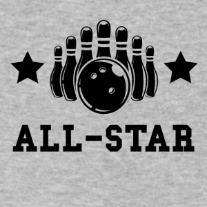 Bowling All Star - Men's V-Neck T-Shirt by Canvas