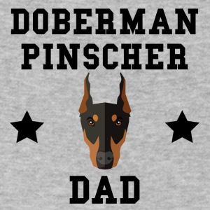 Doberman Pinscher Dad Dog Owner - Men's V-Neck T-Shirt by Canvas