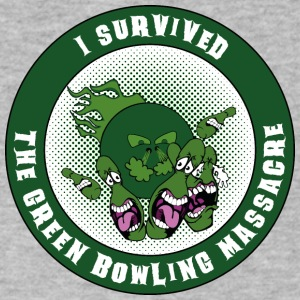 The green bowling massacre - Men's V-Neck T-Shirt by Canvas