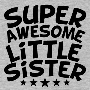 Super Awesome Little Sister - Men's V-Neck T-Shirt by Canvas