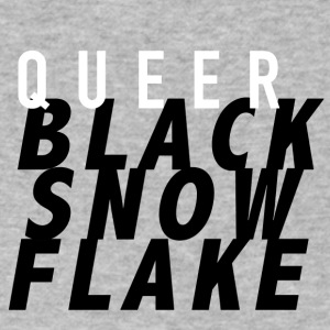 #queerblacksnowflake - Men's V-Neck T-Shirt by Canvas