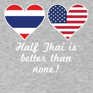 Half Thai Is Better Than None - Men's V-Neck T-Shirt by Canvas