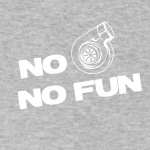 No turbo no fun - Men's V-Neck T-Shirt by Canvas