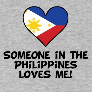 Someone In the Philippines Loves Me - Men's V-Neck T-Shirt by Canvas