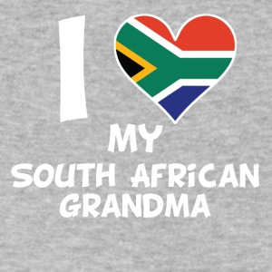I Heart My South African Grandma - Men's V-Neck T-Shirt by Canvas