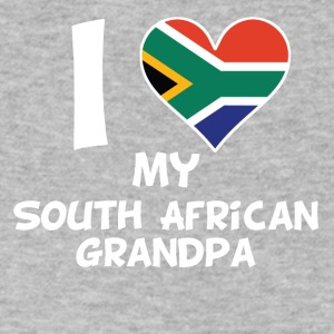 I Heart My South African Grandpa - Men's V-Neck T-Shirt by Canvas