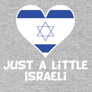 Just A Little Israeli - Men's V-Neck T-Shirt by Canvas
