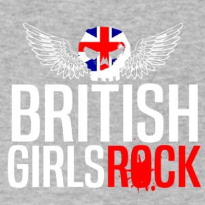 BRITISH GIRLS ROCK - Men's V-Neck T-Shirt by Canvas