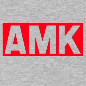 amk - Men's V-Neck T-Shirt by Canvas