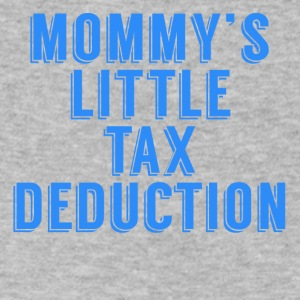 Mommy's Little Tax Deduction - Men's V-Neck T-Shirt by Canvas