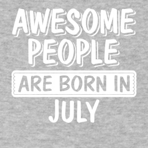 Awesome People are Born - Men's V-Neck T-Shirt by Canvas