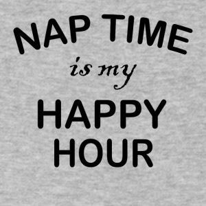 Nap Time is my Happy Hour - Men's V-Neck T-Shirt by Canvas