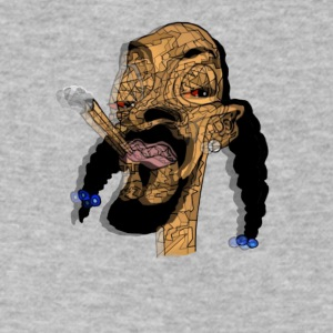 Trippy Snoop Dogggg - Men's V-Neck T-Shirt by Canvas