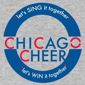 CHICAGO CHEER.com - Men's V-Neck T-Shirt by Canvas