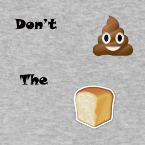 Don't Sh*t The Bread - Men's V-Neck T-Shirt by Canvas