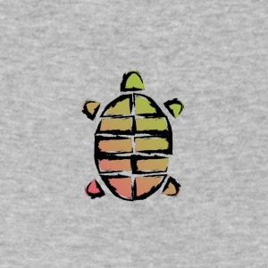 Turtle - Men's V-Neck T-Shirt by Canvas