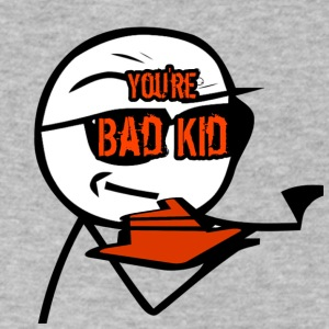 BAD KID - Men's V-Neck T-Shirt by Canvas