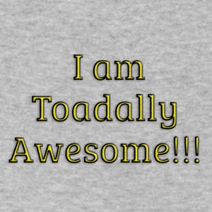 I am Toadally Awesome - Men's V-Neck T-Shirt by Canvas